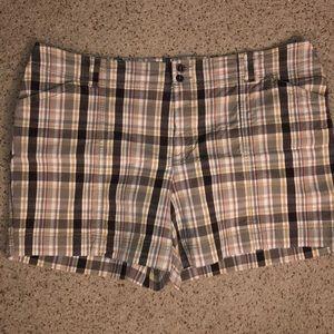 Sonoma brown plaid shorts